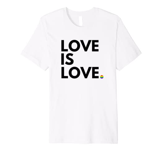 cf582b42a Image Unavailable. Image not available for. Color: LGBT Gay Marriage Shirt  - Love ...