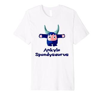 adeb66148 AS Awareness Shirt - Chargimal Ankylo Spondysaurus: Amazon.co.uk: Clothing