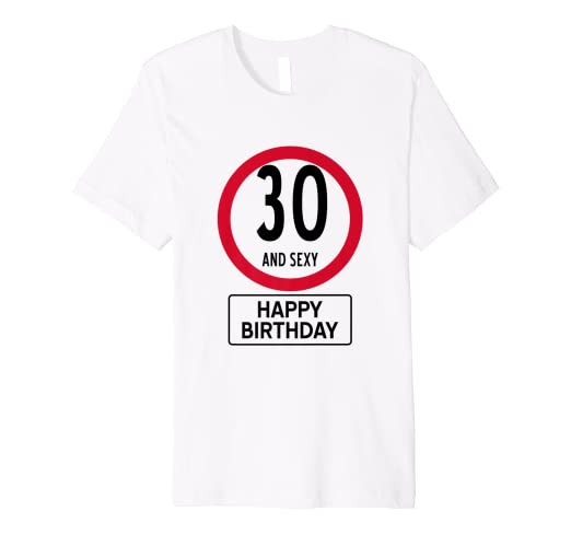 Amazon Funny 30th Birthday Shirt T 30 Th