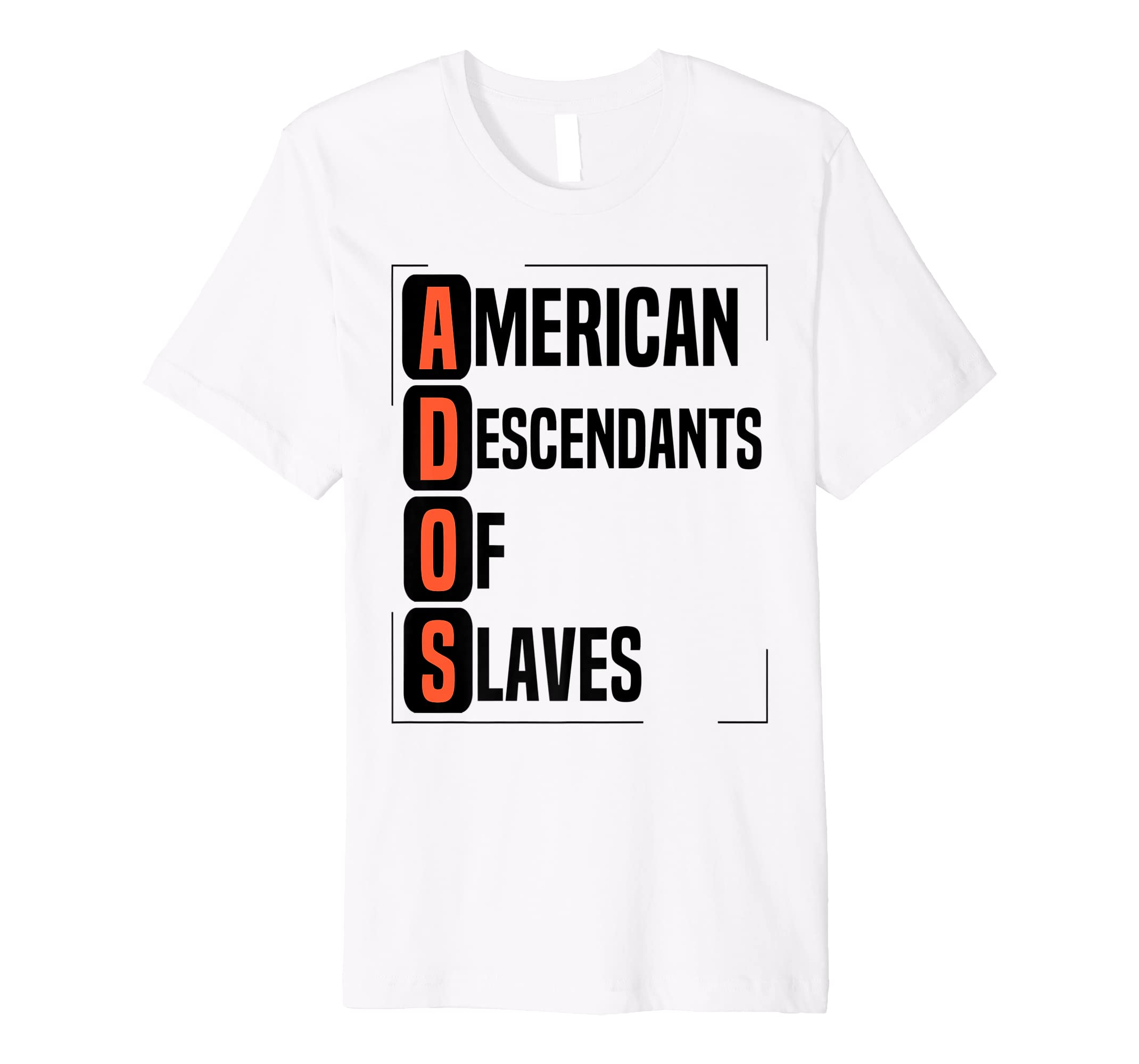 American Descendants of Slaves T-Shirt #ADOS Reparations-ANZ