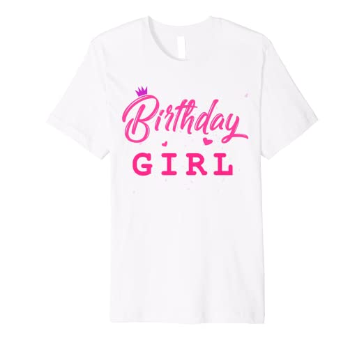 f4082496a Image Unavailable. Image not available for. Color: Birthday Girl Shirt ...