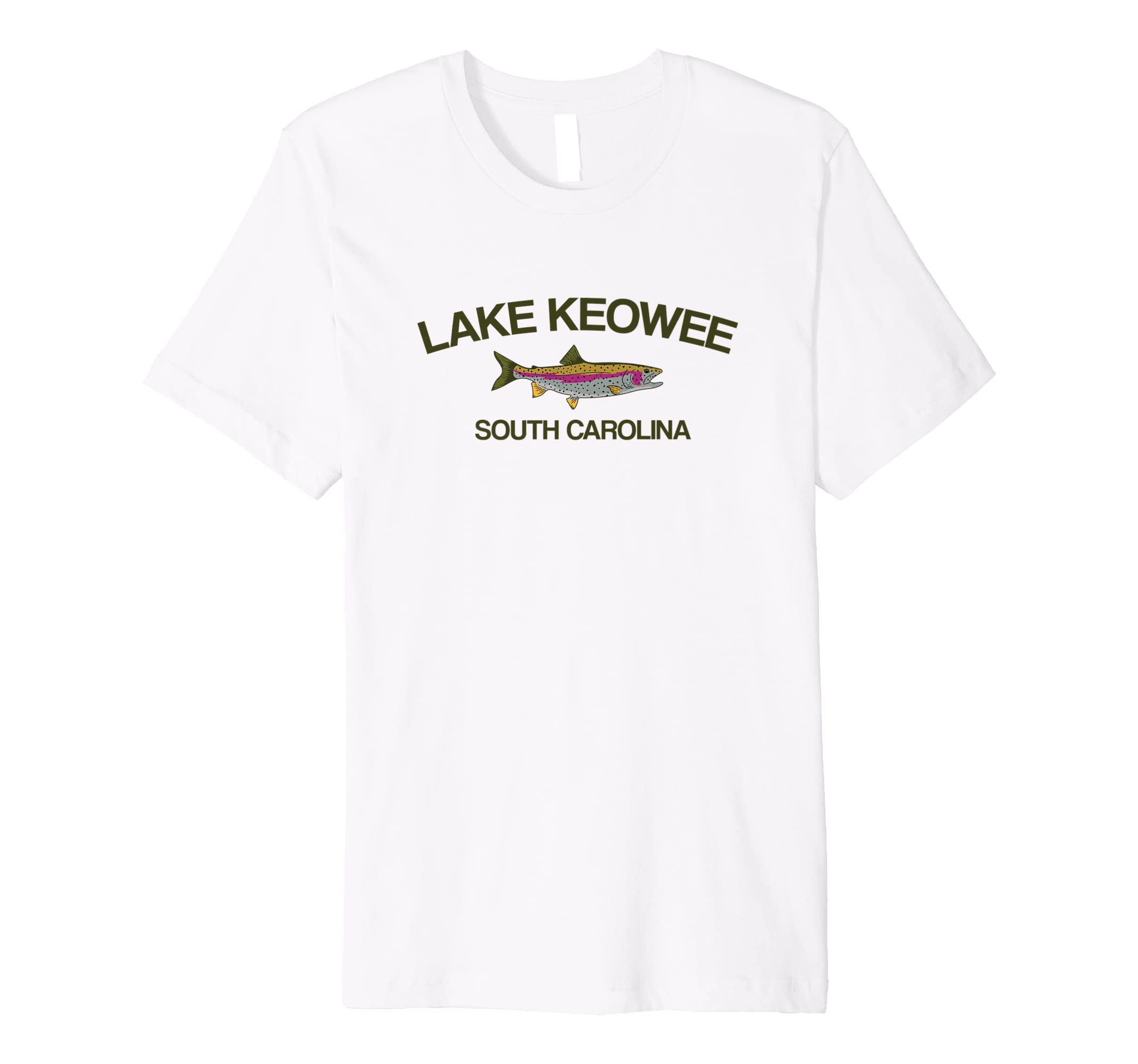 Amazon com: Lake Keowee T-Shirt South Carolina Lake Apparel
