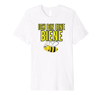 Ich Bin Eine Biene Tshirt Fur Manner Frauen Kinder Geschenk Amazon