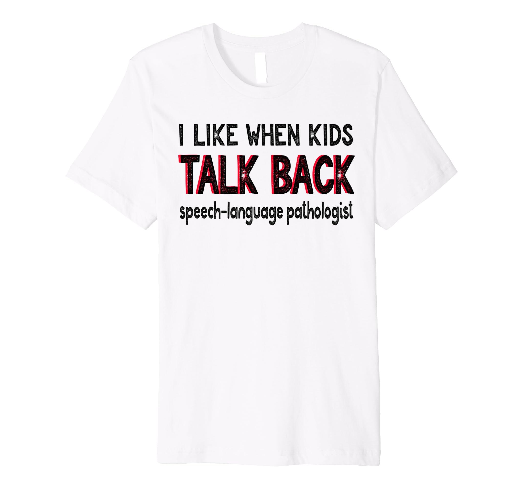 b18452094 Amazon Com Funny Speech Pathologist Shirt For School Slp Therapist