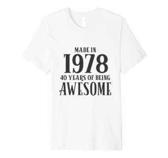 40th Birthday T Shirt Mother Mom Gift Age 40 Women