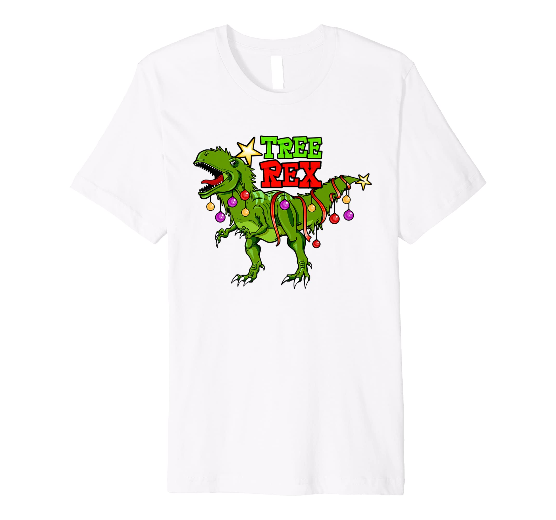 99f781bd6 Amazon.com: Tree Rex Christmas Holiday Shirt - T-Rex Dinosaur Santa Gift:  Clothing