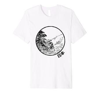 b3f00063e Japan T-Shirt - Cool Japan Gift - Nihon Nippon Japan Tee: Amazon.co.uk:  Clothing