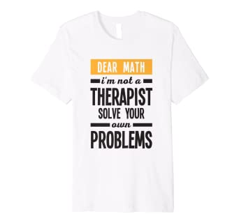 cec1b99c Image Unavailable. Image not available for. Color: Math Quote T-Shirt ...