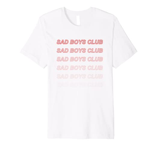 06dbb3130 Amazon.com: Sad Boys Club, Aesthetic T-Shirt: Clothing