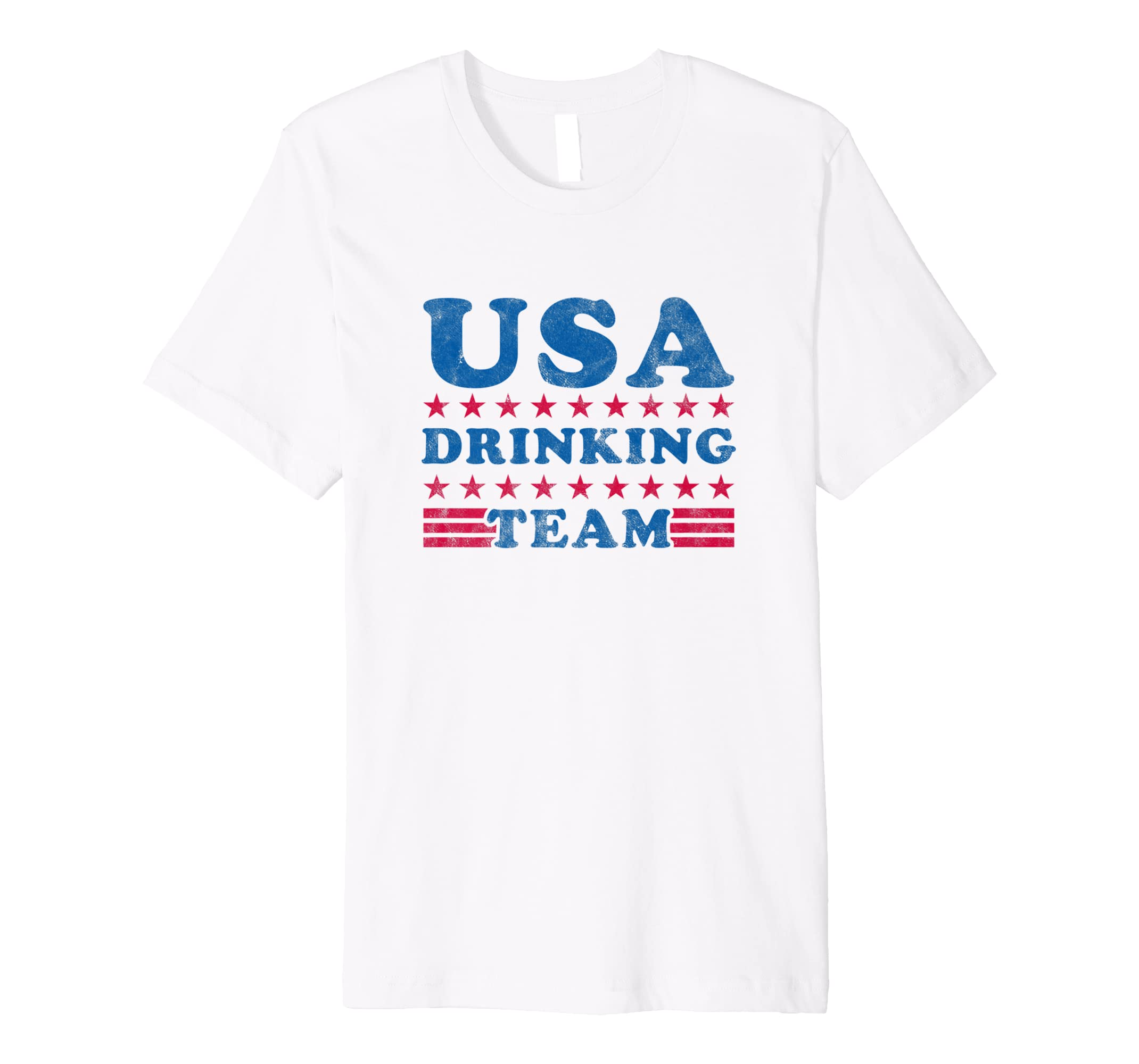 a806457cfc4ad Amazon.com  Independence Day Shirt USA Drinking Team 4th of July T-Shirt   Clothing