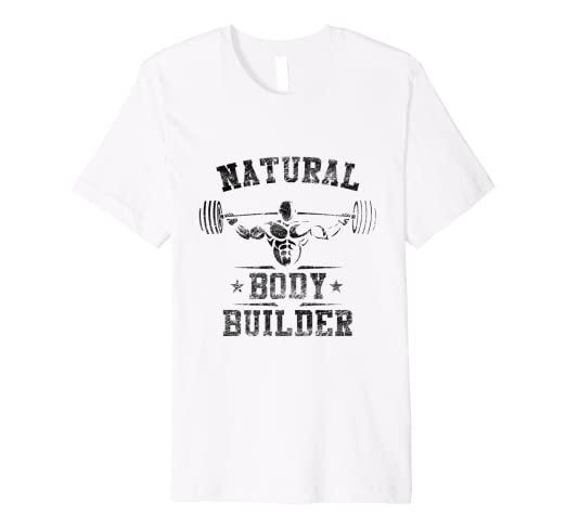 ef5a5bea5 Image Unavailable. Image not available for. Color: Natural Bodybuilding  Shirt ...