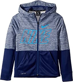 6dc14e27a317 Blue Void Pure Blue Void Blue Hero. 44. Nike Kids. Therma Full Zip Graphic  Training Hoodie ...