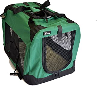 "topPets 便携式柔软宠物背带或箱子或狗窝,适合狗狗、猫或其他小型宠物。 非常适合旅行、室内及户外 苔* Small: 20""x14""x14"""
