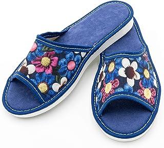 ABsoft - Pantofole aperte da donna 100% ciabatte da casa