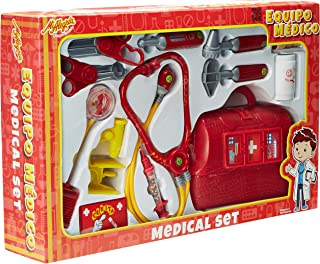Mi Alegría Set Equipo Medico, color Rojo