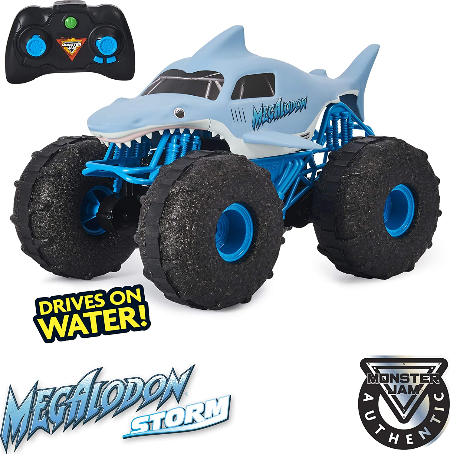 Monster Truck Megalodon - Truck and the controller
