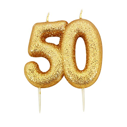 50th Birthday Candles Amazoncouk