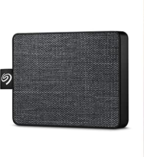 Seagate STJE1000400 One Touch External SSD, 1TB, Black