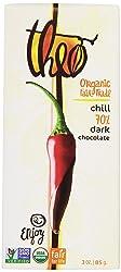 Theo Organic Fair Trade Chocolate Bar Dark with Spicy Chile