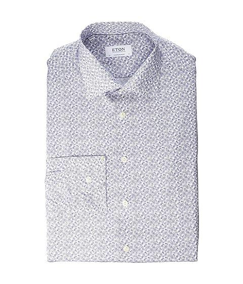 Eton Contemporary Fit Paisley Print Shirt