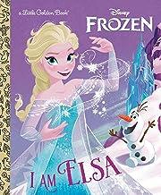 I Am Elsa (Disney Frozen) (Little Golden Book)