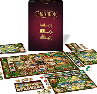 Ravensburger Castles of Burgundy Strategy Game for Ages 12 & Up - 20th Anniversary Alea - Trade. Build. Rule The Realm!, M...