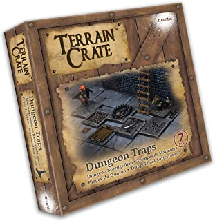 DUNGEON TRAPS - TERRAIN CRATE - MANTIC GAMES