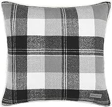 Eddie Bauer Lodge Grey Plaid Throw Pillow, 20 x 20