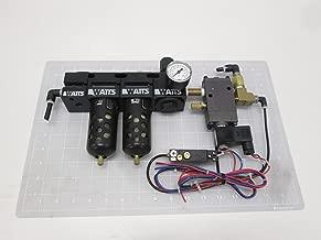 Watts FluidAir, Norgren R75-02C, 375-02-007-68-1 Pneumatic Filter Regulator Assembly T67965