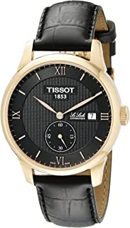 Men's T0064283605801 Le Locle Analog Display Swiss Automatic Black Watch