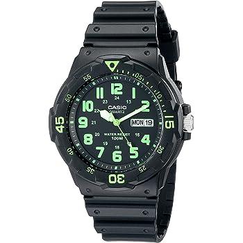 Casio Men's MRW200H-3BV Dive Style Neo-Display Sport Watch