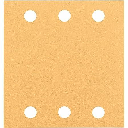Bosch Professional Schleifblatt für Schwingschleifer Holz und Farbe Best for Wood and Paint (10 Stück, Körnung 120, C470)