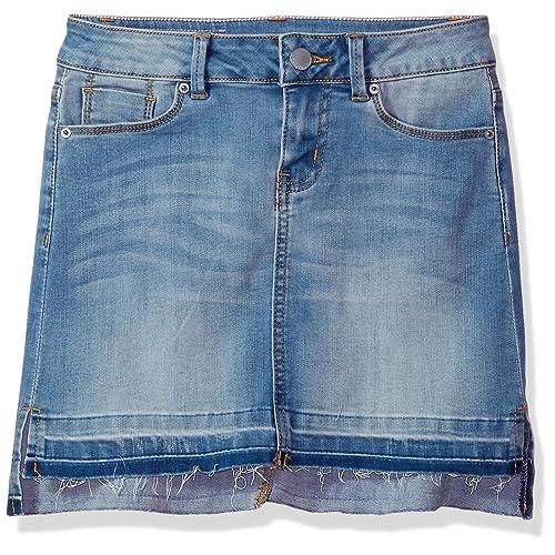 a7ff42d873 Calvin Klein Little Girls' Denim Skirt