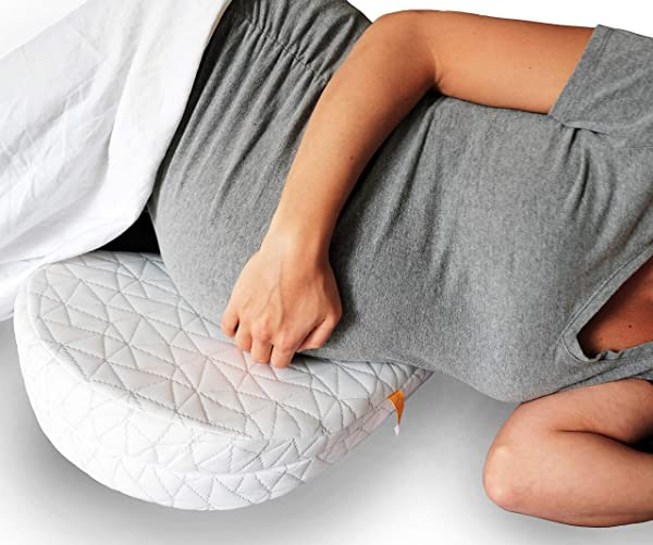 JILL JOEY Pregnancy Pillow Wedge For Maternity Belly Back Support When Pregnant