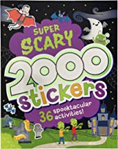2000 Stickers Super Scary Activity Book: Includes 36 Spooktacular Activities!