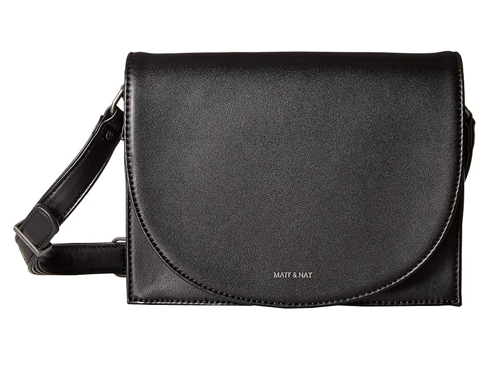 Matt & Nat Loom Calla (Black) Handbags