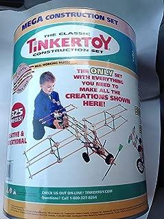 Tinkertoy Mega Construction Set 325 Pieces.