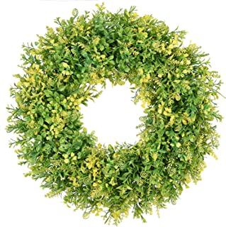 Lvydec Artificial Boxwood Wreath - 18
