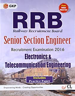 Guide to RRB Electronics and Telecommunication Engg. (SENIOR SECTION ENGINEER) 2016