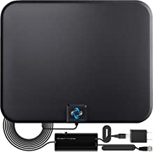 U MUST HAVE Amplified HD Digital TV Antenna Long 200+ Miles Range - Support 4K 1080p Fire tv Stick and All Older TV's - In...