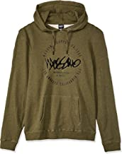 Mossimo Men's Bad Seed Pullover Hoodie, Army Marle