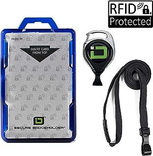 work id card holder