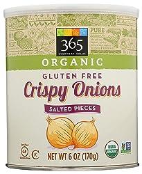 365 Everyday Value, Organic Gluten Free Crispy Onions, 6 oz