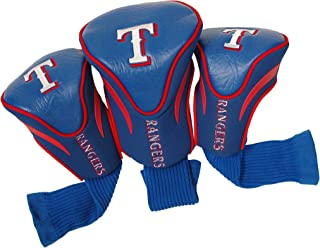 Team Golf MLB Contour Golf Club Headcovers (3 Count), Numbered 1, 3, & X, Fits Oversized Drivers, Utility, Rescue & Fairwa...