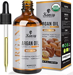 comprar comparacion Kanzy Aceite de Argan Puro de Marruecos 100% Bio Morrocan Oil Rico en Vitamina E y Antioxidantes, Argan Oil para Cabello, ...