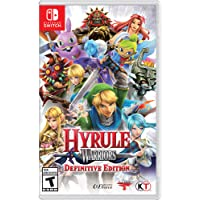 Target.com deals on Hyrule Warriors: Definitive Edition Nintendo Switch