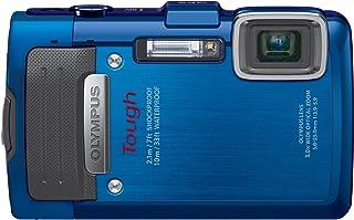 OLYMPUS デジタルカメラ STYLUS TG-835 Tough ブルー 防水性能10m GPS機能 電子コンパス TG-835 Tough BLU