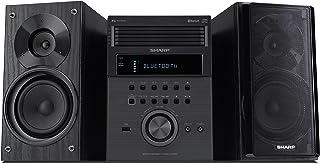 Sharp XL-BH250 Sharp 5-Disc Micro Shelf Executive Speaker System with Bluetooth, USB Port for MP3 Playback, AM/FM, Audio i...