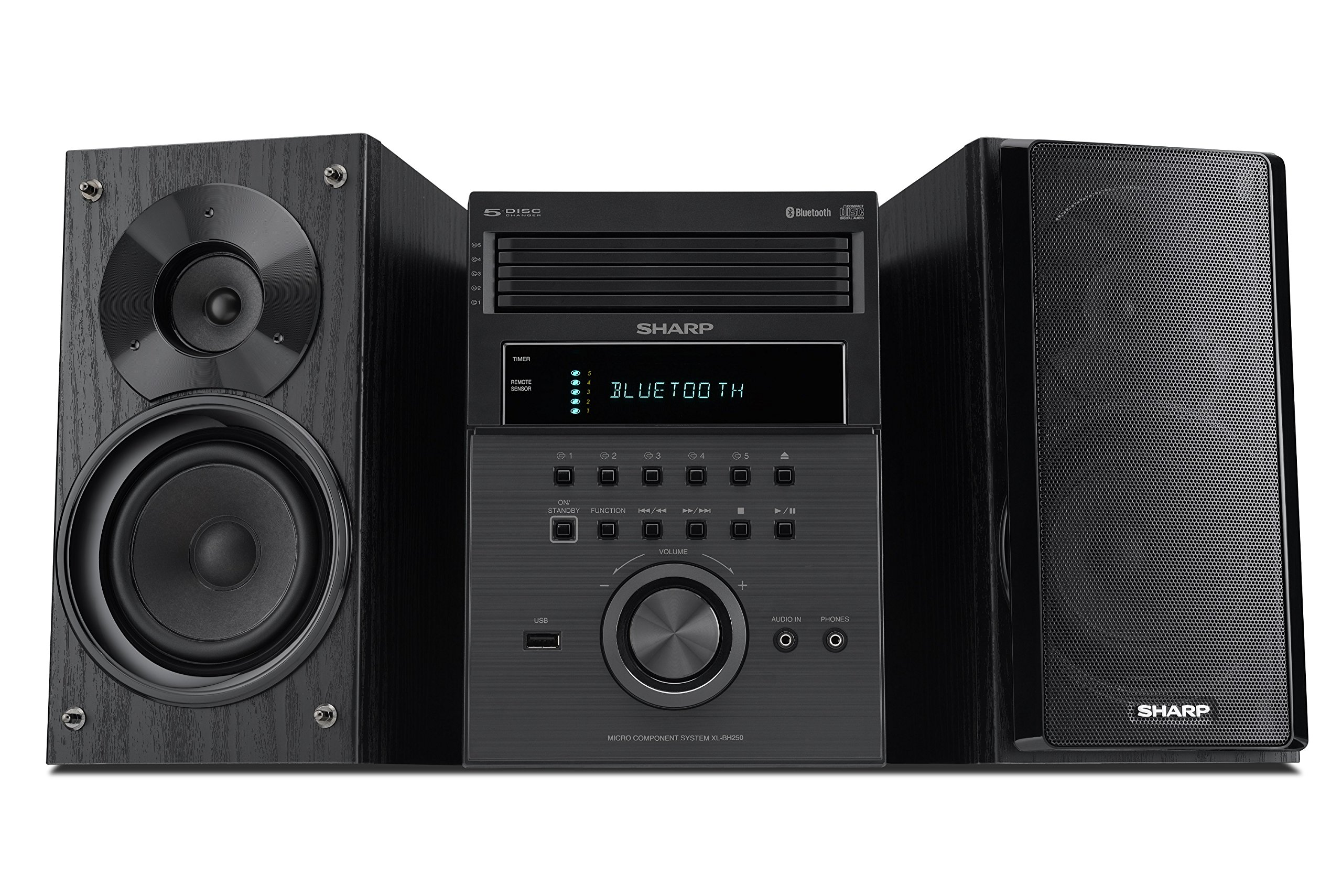 Sharp XL BH250 Executive Bluetooth Playback