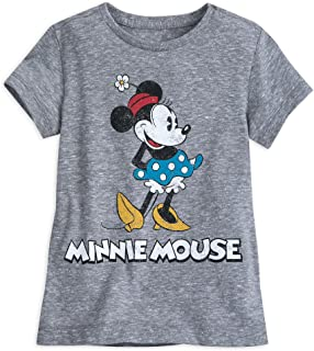 Minnie Mouse Classic T-Shirt for Girls - Gray Multi